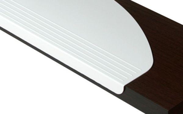 stufenmatten n64 01 wei undurchsichtig kunststoff stufenmatten kleiderb gel trittschutz. Black Bedroom Furniture Sets. Home Design Ideas